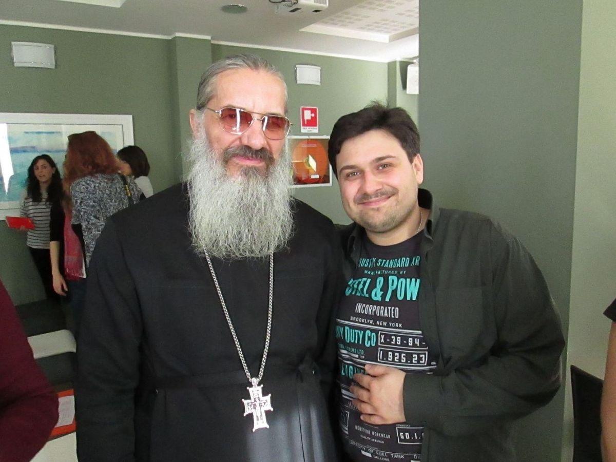 """""""Dobbiamo ringraziare Dio per l'esperienza"""". Conversazione di Sergij Epik con l'archimandrita Amvrosij (Makar), parroco di una comunità ortodossa di Milano"""