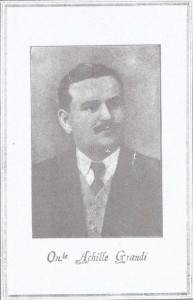 1921 A Grandi onorevole