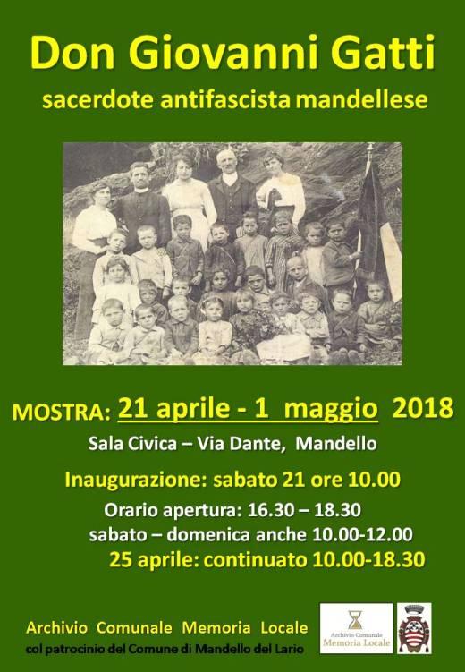 manifesto mostra Don Gatti